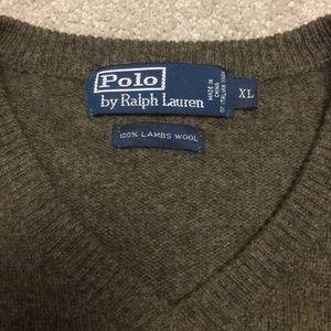 Polo by Ralph Lauren Men's XL V-neck sweater